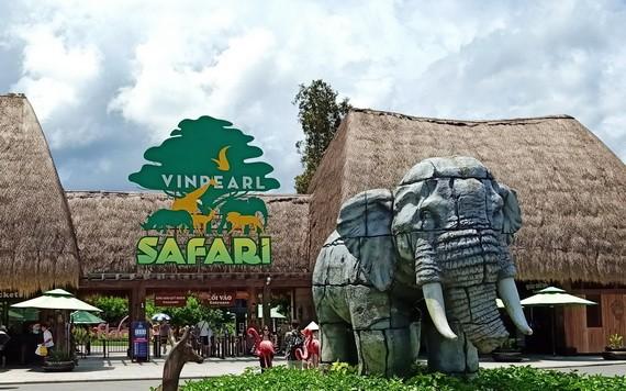 富國島Vinpearl Safari Zoo(觀察野生動物園)大門