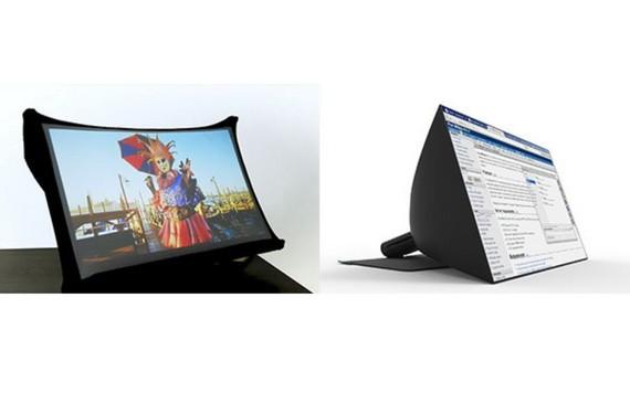 第一代SPUD的技術關鍵是屏幕布料,採用的物料主要是柔性基材,加入納米材料,使其可摺疊、可攜帶、不易皺。