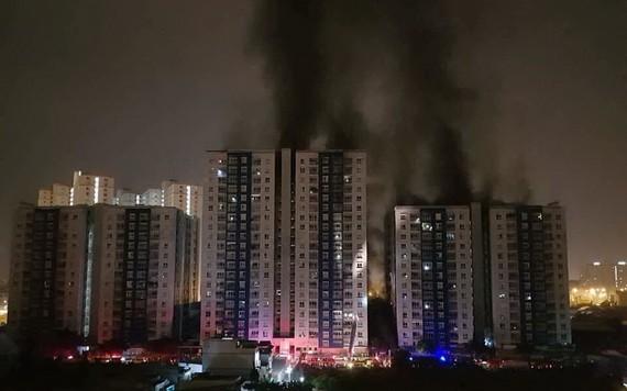 第八郡Carina Plaza 公寓2018年3月23日凌晨發生大火致13人死亡。(圖源:張仁)