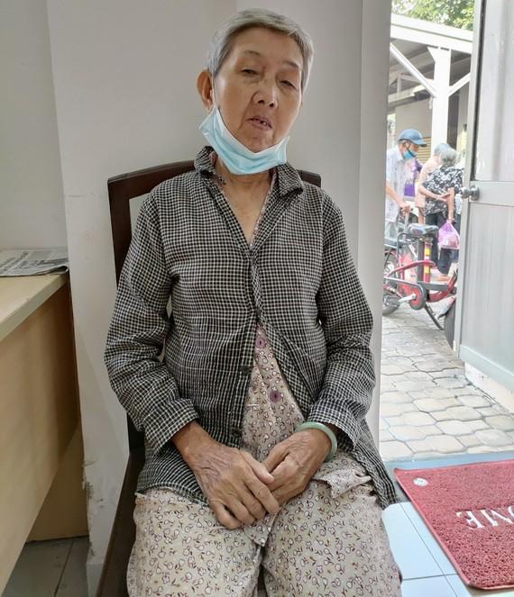 龍國霞期盼早日入院接受醫治。