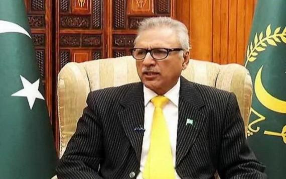 巴基斯坦伊斯蘭共和國總統阿里夫‧艾維。(圖源:Getty Images)