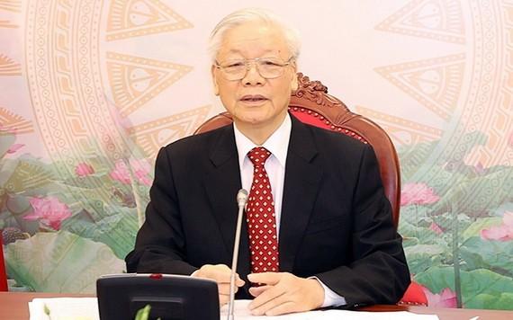 黨中央總書記、國家主席阮富仲。(圖源:越通社)