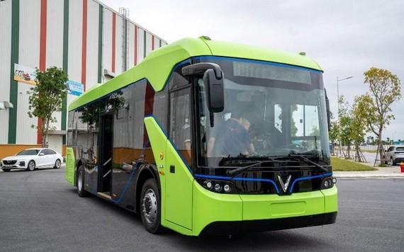 Vinfast 電動巴士。(圖源:詩絨)