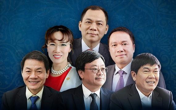 2021年全球億萬富翁排行榜中,越南首次有6富翁榜上有名。(圖源:謝呂)