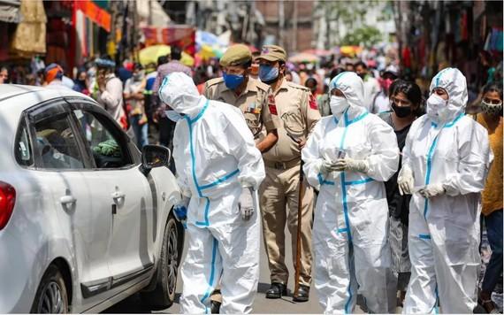 印度疫情。(圖源:《今日印度》)