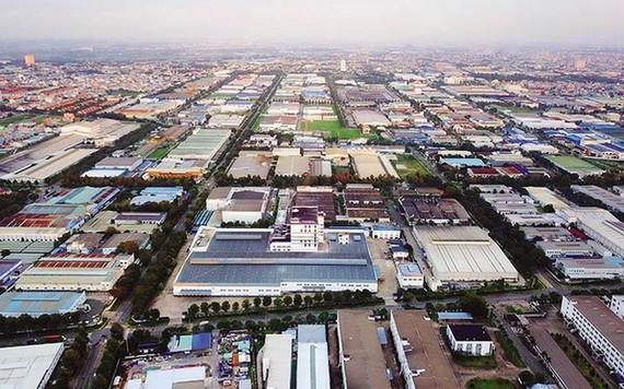 平陽省VSIP工業區一瞥。
