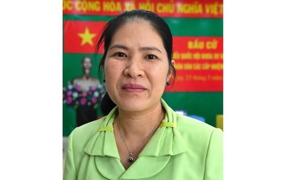 守德市人民議會副主席蔡美妍。