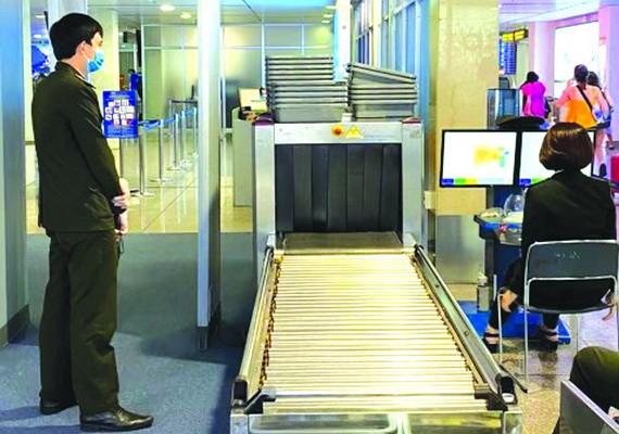 新山一機場增設5台安檢掃描儀