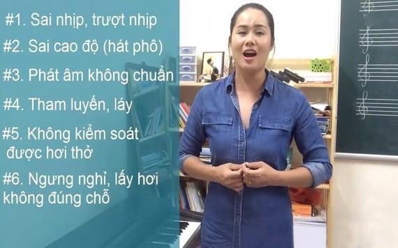 講師清和的聲樂教學視頻因其專業且易於理解而吸引了大量觀眾。