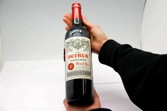 國際空間站陳釀葡萄酒估價 100 萬美元。(圖源:路透社)