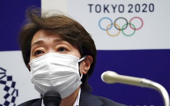 東京奧運會和殘奧會組織委員會主席橋本聖子。(圖源:AP)