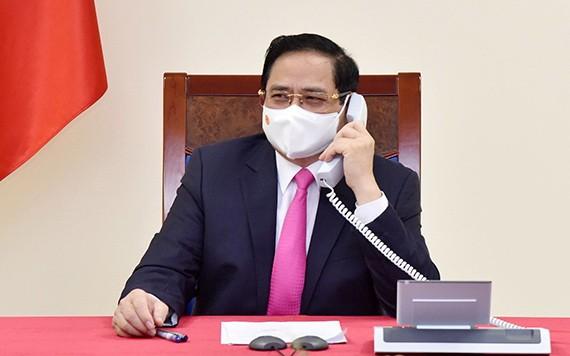 政府總理范明政。(圖源:陳海)