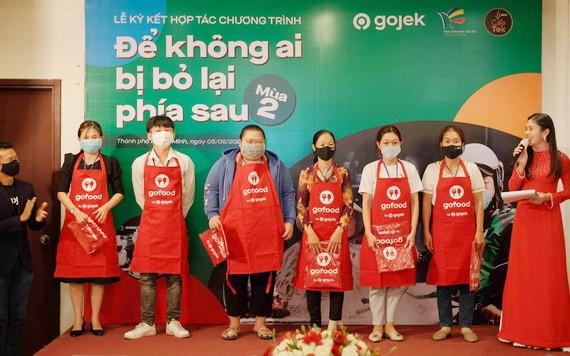 獲Gojek集團協助創業的Gojek司機親人。
