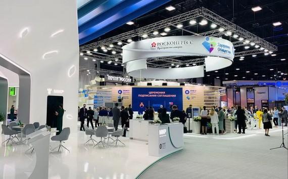年聖彼得堡國際經濟論壇2日在俄羅斯聖彼得堡市開幕。(圖源:互聯網)