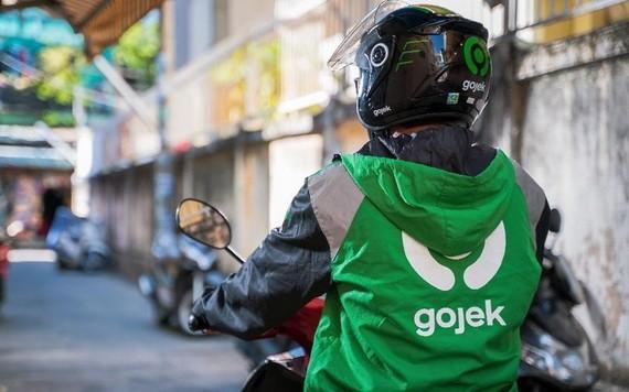一名Gojek網約摩的。