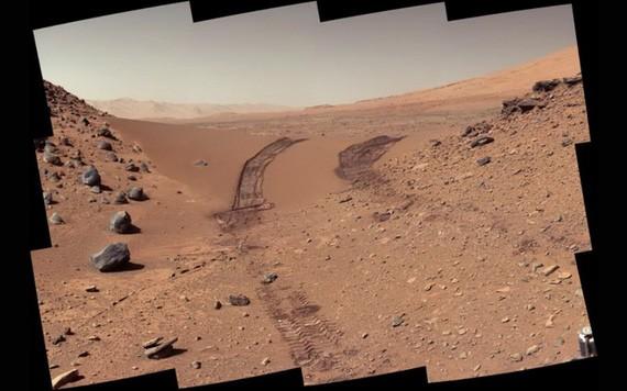 NASA科學家發現火星上可能存在有機鹽