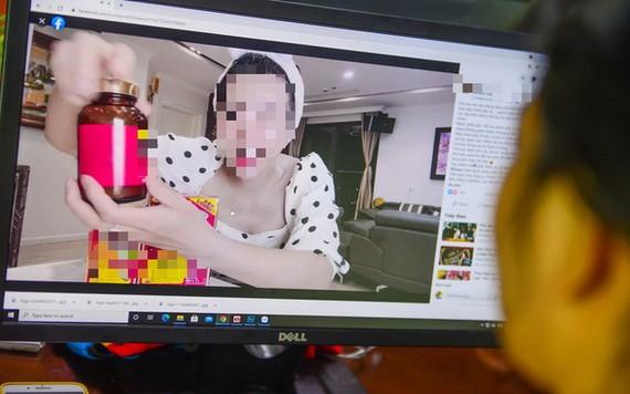 藝人在網上發表資訊不實的廣告造成輿論不滿。