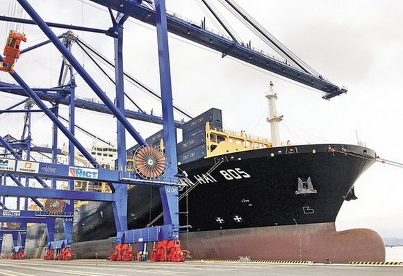 許多外國企業向越南物流市場注資。