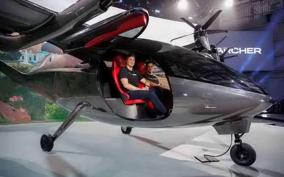 Archer航空公司推出首款電動飛行出租車。(圖源:路透社)