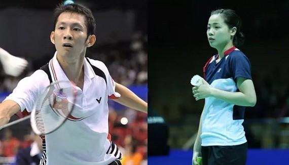 阮進明(左)和阮垂玲(右)。(圖源:互聯網)