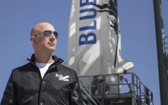 傑夫·貝索斯創辦了藍色起源太空探索公司,以滿足其對太空探索野心。(圖源:互聯網)
