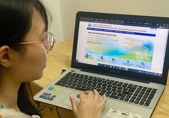 線上簽發、更換駕照十分方便快捷且有效防疫。