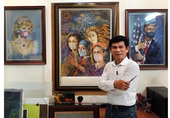 畫家黎沙龍。