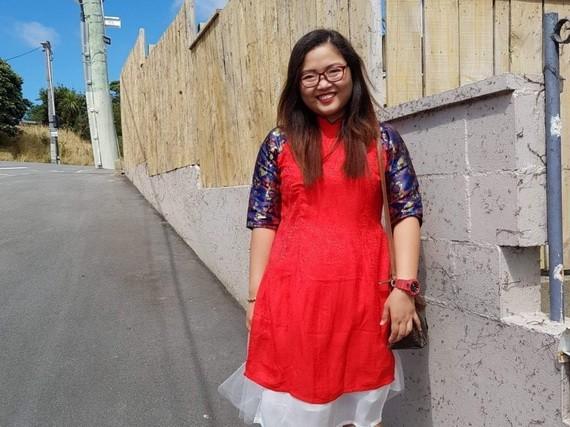 阮善慈榮目前在新西蘭工作。