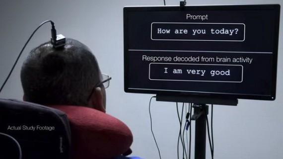 全球首創成功將癱瘓者腦電波轉化成文字