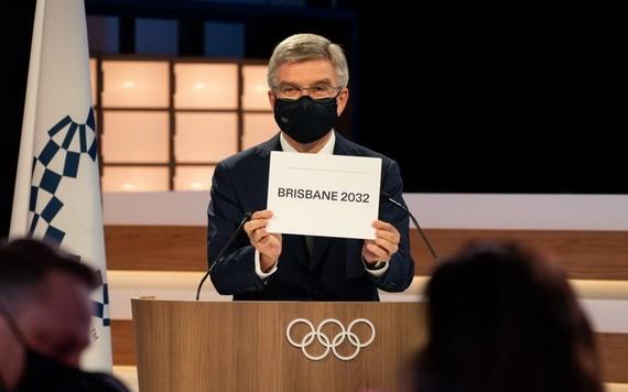 7月21日,國際奧委會主席赫宣佈布里斯班獲得2032年夏季奧運會舉辦權。(圖源:IOC)