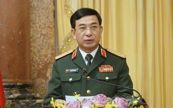 國防部部長潘文江大將。(圖源:阮明)