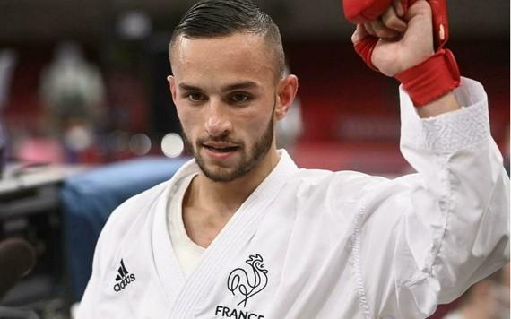 法奧運史上首位空手道冠軍