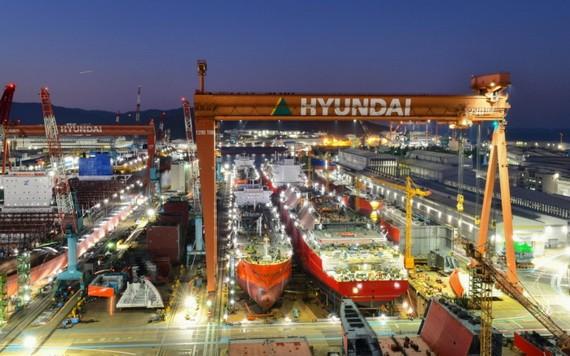 韓國造船及海洋工程公司是現代重工集團二級控股公司。(圖源:TKED)
