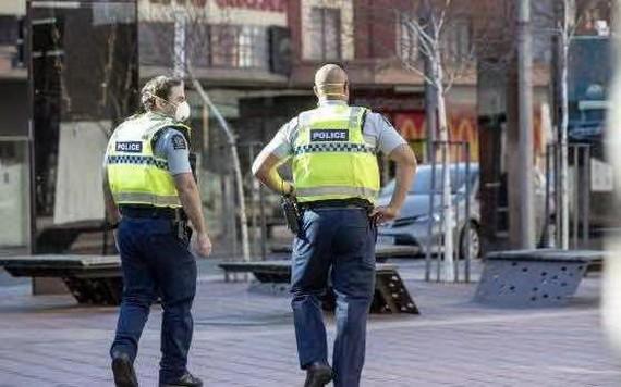 新西蘭首都惠靈頓街頭。(圖源:互聯網)