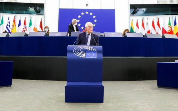 博雷爾:我們同意歐盟各國外長的意見,即這種互動的程度和性質將取決於新塔利班政府的行為。(圖源:路透社)