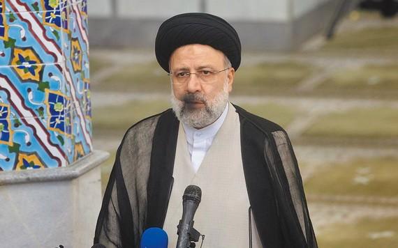 伊朗總統萊希:伊朗不會允許 IS 在伊阿邊境建立據點。(  圖源:互聯網)