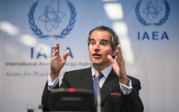 格羅西表示,國際原子能機構正尋求為更多有關伊朗核計劃的外交努力鋪平道路。 (圖源:EPA)