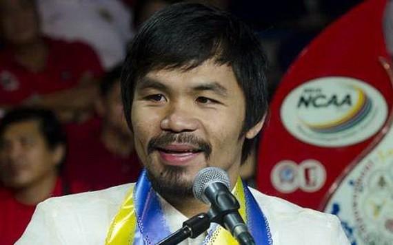 菲律賓拳王、參議員曼尼‧巴喬。(圖源:互聯網)