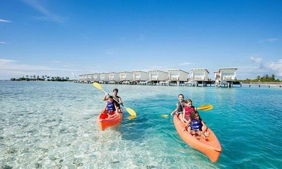 馬爾代夫旅遊景點之一。(圖源:互聯網)