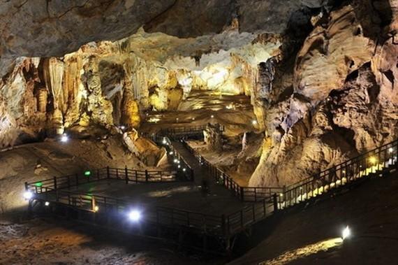 風芽——格邦國家公園的洞穴。