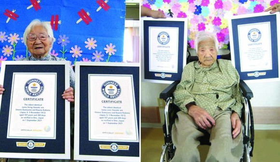 107 歲姐妹刷新全球最長壽雙胞胎紀錄