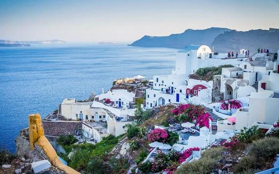 希臘一旅遊景點。(圖源:互聯網)