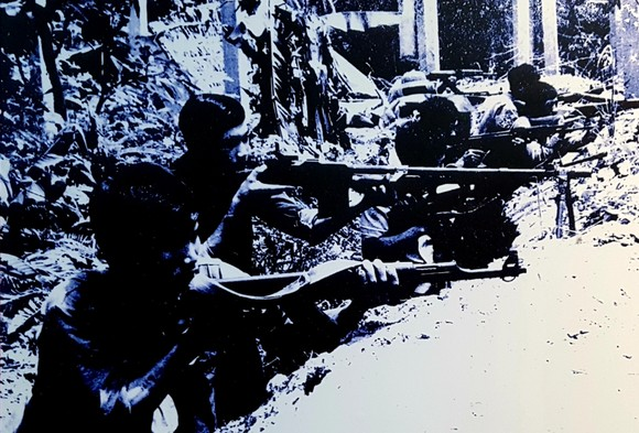 300 tư liệu, hiện vật quý tại triển lãm kỷ niệm 40 năm chiến tranh biên giới Tây Nam ảnh 6
