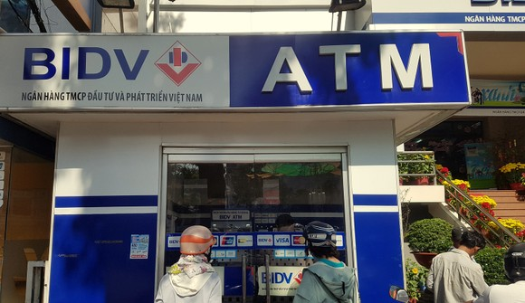 Nhiều cây ATM của BIDV tại Cần Thơ báo lỗi khi rút tiền mặt ảnh 1