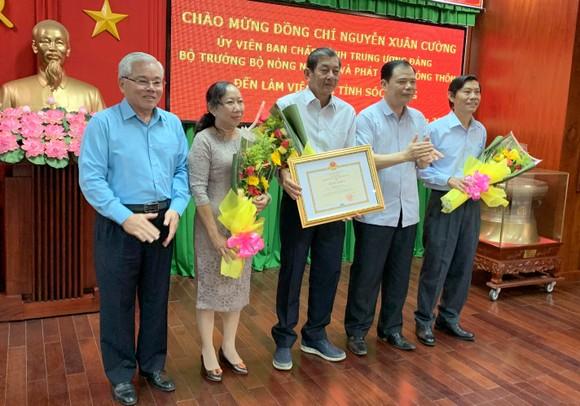Tiến sĩ Trần Tấn Phương được bổ nhiệm Phó Giám đốc Sở NN-PTNT tỉnh Sóc Trăng  ảnh 1