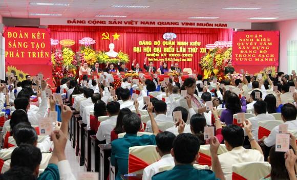 Ông Nguyễn Tiền Phong tái đắc cử Bí thư Quận ủy Ninh Kiều ảnh 2