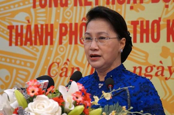 Chủ tịch Quốc hội Nguyễn Thị Kim Ngân dự kỷ niệm 75 năm ngày Tổng tuyển cử đầu tiên bầu Quốc hội ảnh 1