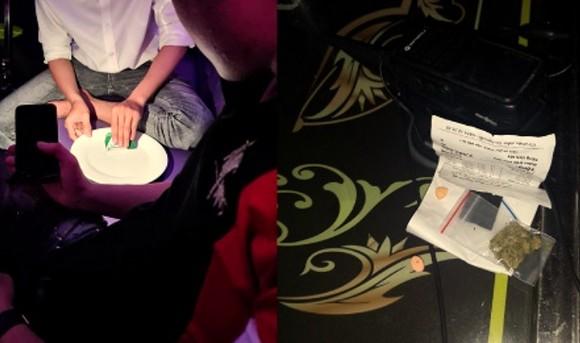 Bắt quả tang cơ sở karaoke hoạt động chui mùa dịch, phát hiện 32 người dương tính với ma túy ảnh 2