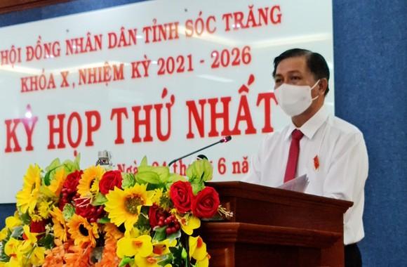 Ông Trần Văn Lâu tái đắc cử Chủ tịch UBND tỉnh Sóc Trăng ảnh 1