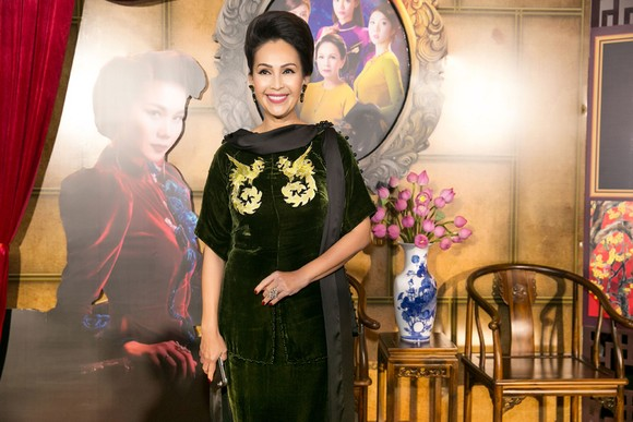 Sao Việt nô nức khoe váy áo ra mắt phim Mẹ chồng  ảnh 3
